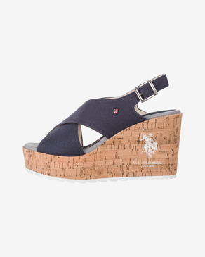 U.S. Polo Assn Theba Buty wedge
