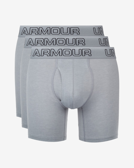 "Under Armour Charged Cotton® Stretch 6"" 3-pack Bokserki"